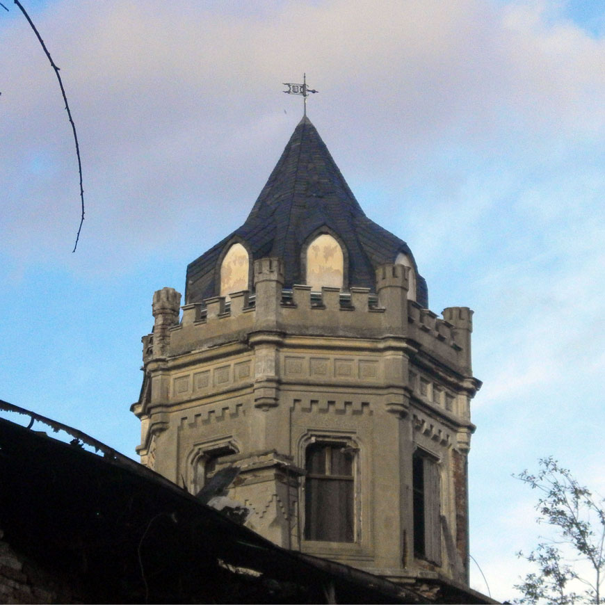 Repair of tower roof 2016