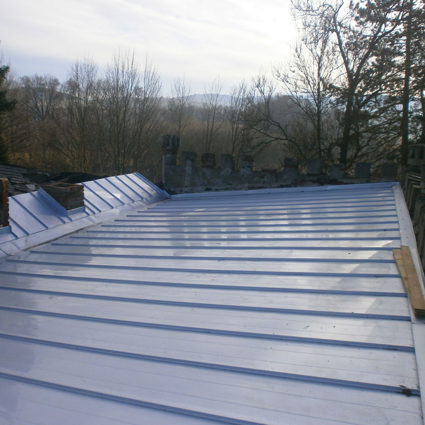 Oprava ploché střechy 2017
