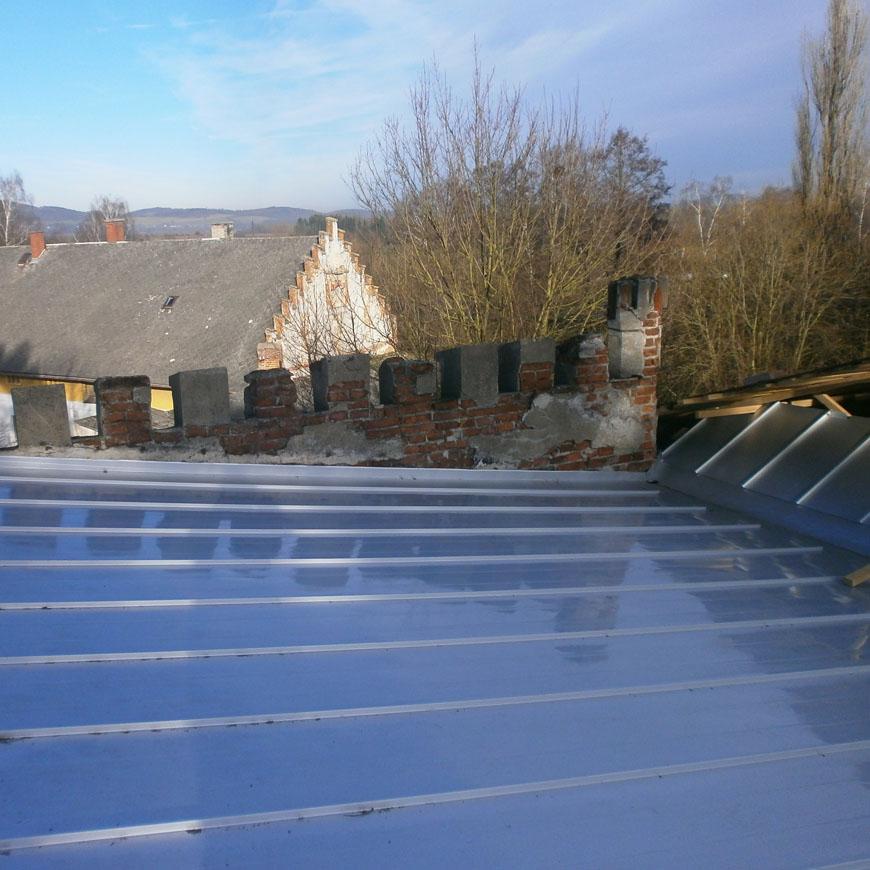 Repair of flat roof 2017